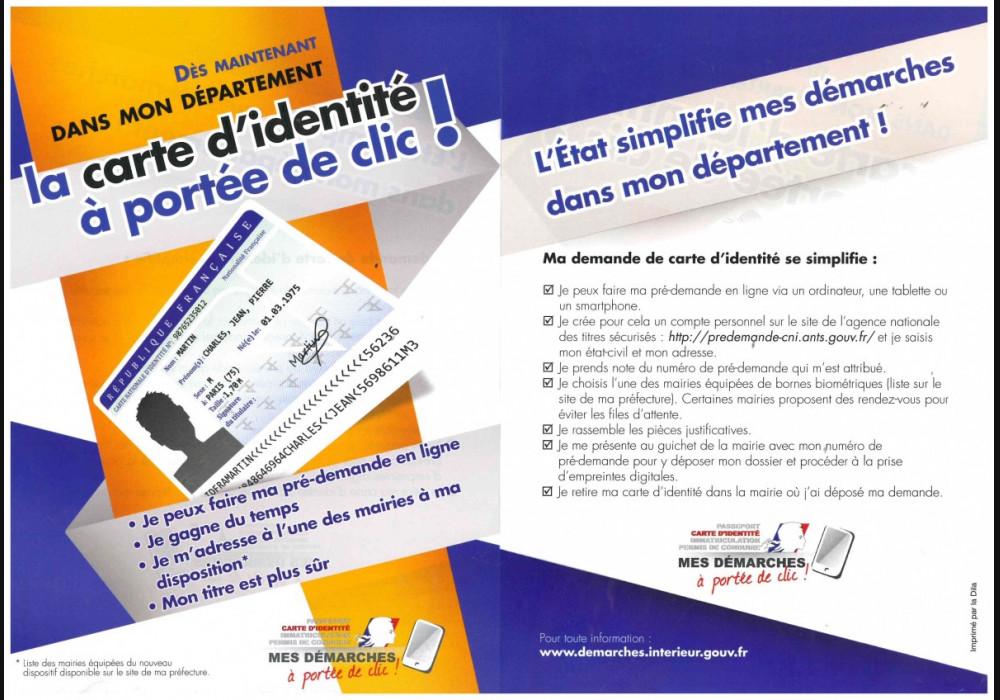 demande en ligne carte d identité Carte nationale d'identité   Tourville sur Arques